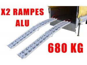 Rampes de levage alu 680 kg