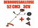 Débroussailleuse thermique Timberpro 52cm3